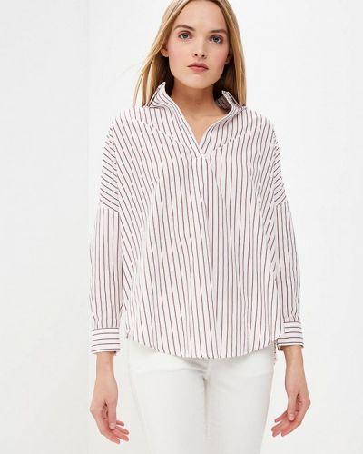 Белая рубашка с длинным рукавом French Connection