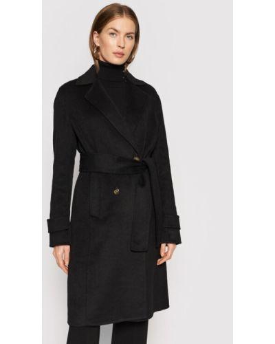 Płaszcz wełniany - czarny Liu Jo