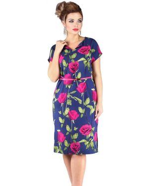Повседневное платье из штапеля платье-сарафан Novita