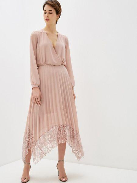 Платье прямое розовое Rinascimento