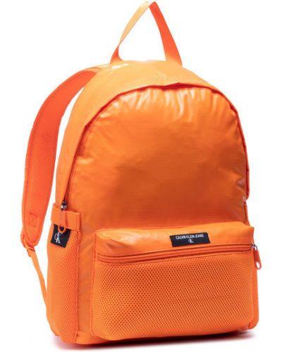Plecak - pomarańczowy Calvin Klein Jeans