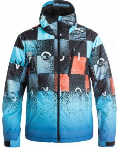 Куртка с капюшоном горнолыжная с манжетами Quiksilver