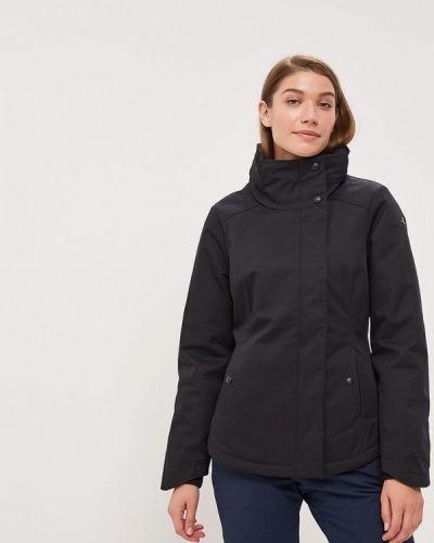 Зимняя куртка утепленная черная Dreimaster