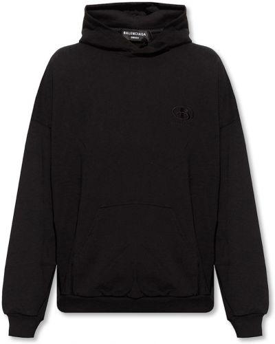 Bluza dresowa - czarna Balenciaga