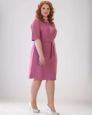 Платье с поясом платье-сарафан однотонное марита