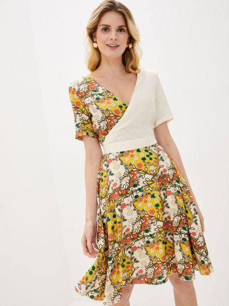 Желтое платье Kristina Kapitanaki