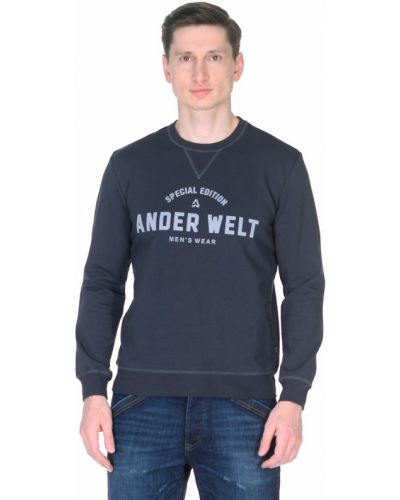 Джемпер с надписью Ander Welt