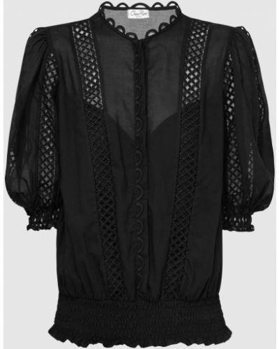 Черная блузка Charo Ruiz