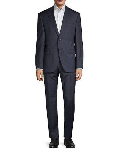Костюмный шерстяной костюм с длинными рукавами Boss Hugo Boss