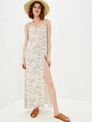 Пляжное белое платье Beach Bunny