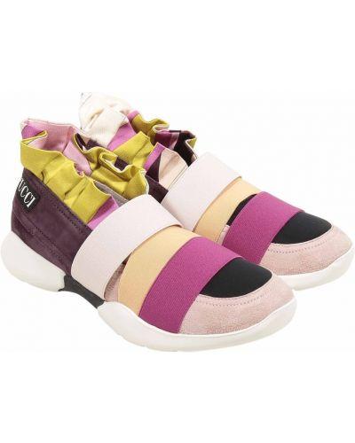 Sneakersy zamszowe Emilio Pucci