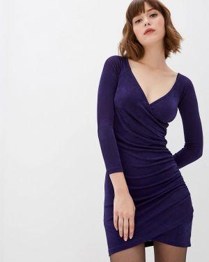 Вечернее платье осеннее фиолетовый Befree