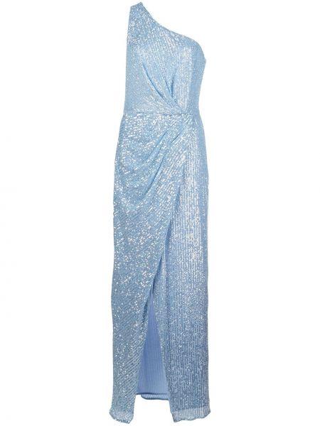 Приталенное платье на одно плечо с пайетками с вырезом Jay Godfrey