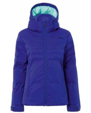 Куртка с капюшоном горнолыжная утепленная Head