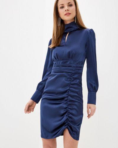 Синее вечернее платье Imocean