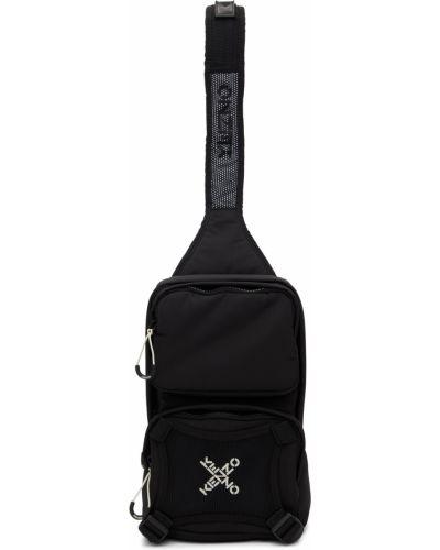 Biały plecak z siateczką Kenzo