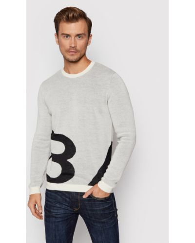 Beżowy sweter Baldessarini