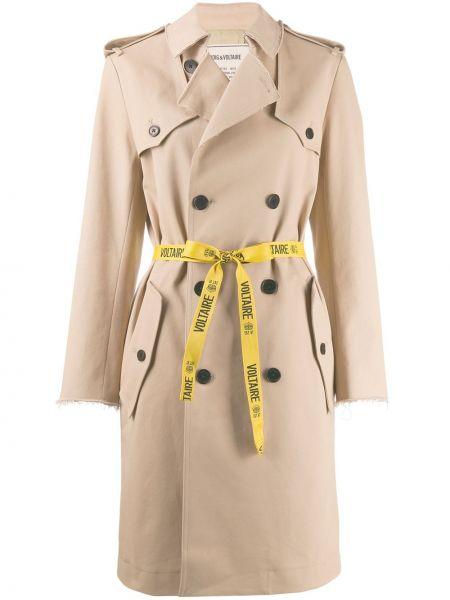Длинное пальто Zadig&voltaire