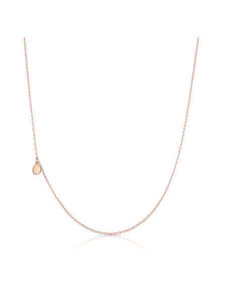 Naszyjnik łańcuch - różowy W.kruk