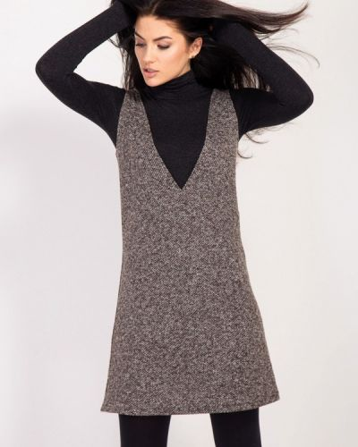 Платье - коричневое Bessa