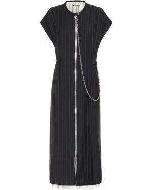 Платье миди в полоску платье-майка Acne Studios