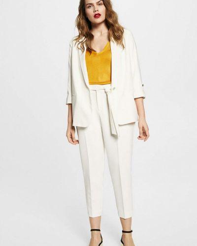 Белый пиджак Violeta By Mango