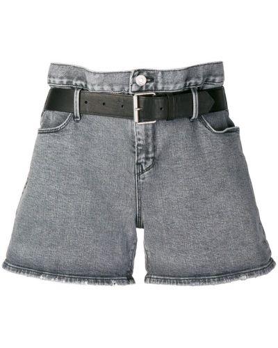 Джинсовые шорты серые Rta