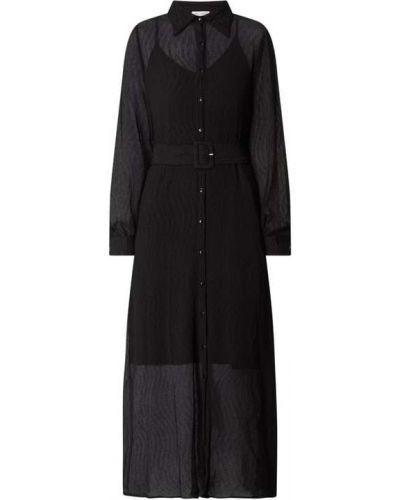 Czarna sukienka rozkloszowana Neo Noir