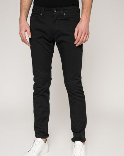 Черные прямые брюки Diesel