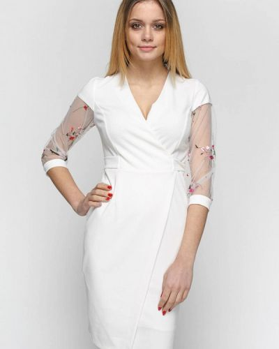 Асимметричное коктейльное платье Zubrytskaya