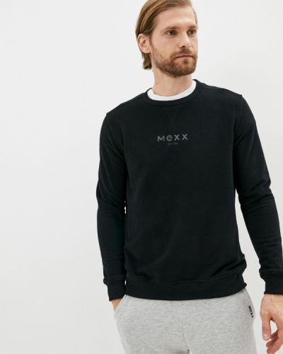 Черный зимний свитшот Mexx