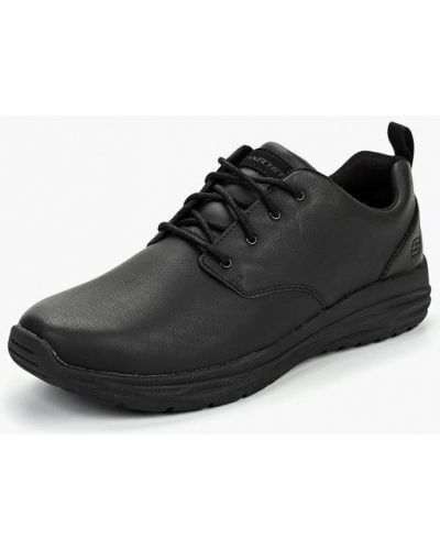 Ботинки осенние кожаные низкие Skechers