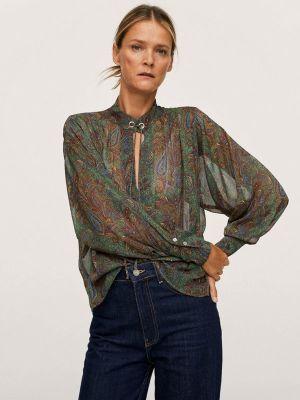 Блузка с длинными рукавами Mango