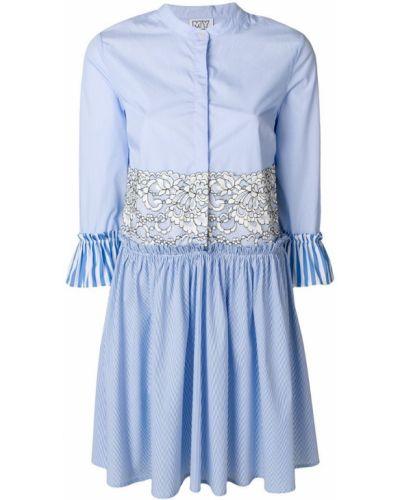 Платье рубашка солнце с длинными рукавами Twin-set