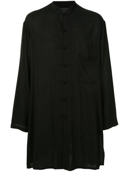 Koszula z długim rękawem długa przeoczenie Yohji Yamamoto