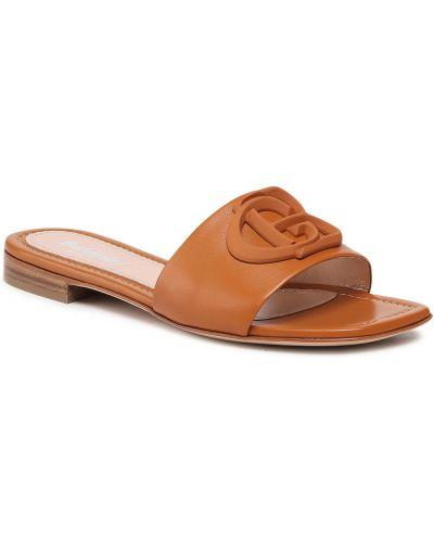 Brązowe sandały casual Baldinini