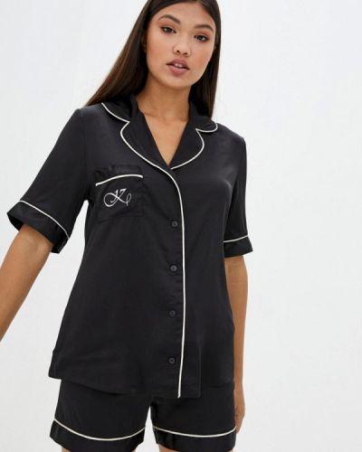 Пижамная черная пижама Komilfo