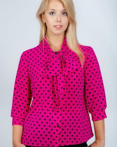 Текстильная блузка с бантом Belirini