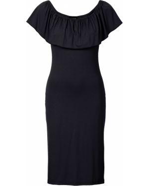 Вечернее платье с декольте морское Bonprix