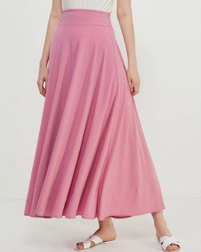 Розовая юбка макси Alina Assi