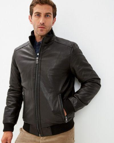 Кожаная куртка - черная Jorg Weber