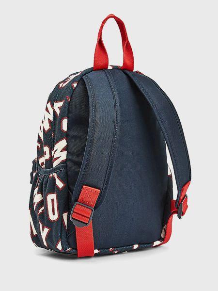 Синий школьный рюкзак с карманами Tommy Hilfiger