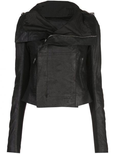 Куртка черная байкерская Rick Owens