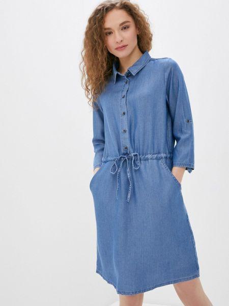 Платье - голубое Savage