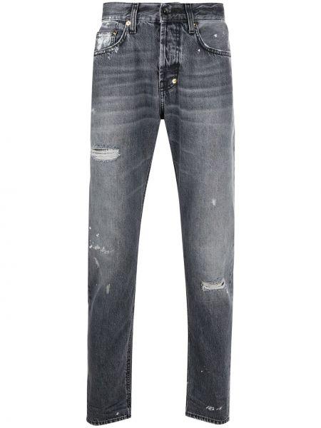 Klasyczne jeansy bawełniane z paskiem Prps