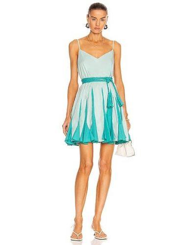 Niebieska sukienka bawełniana Rhode