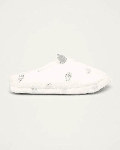 Тапочки белые Esotiq