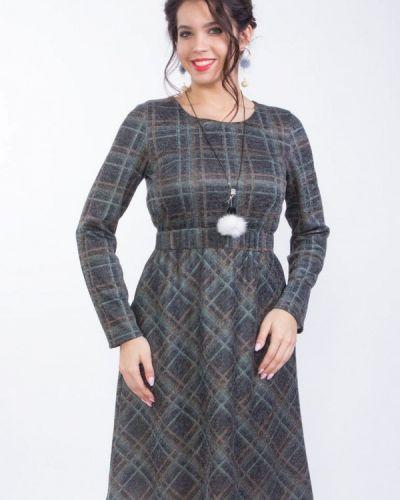 Серое платье Wisell