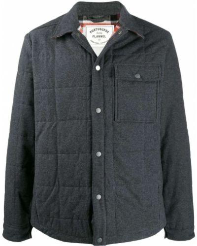 Классическая фланелевая длинная куртка Portuguese Flannel