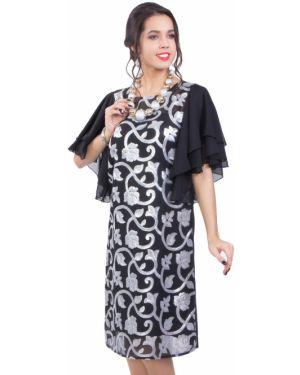 Вечернее платье с цветочным принтом на торжество Wisell